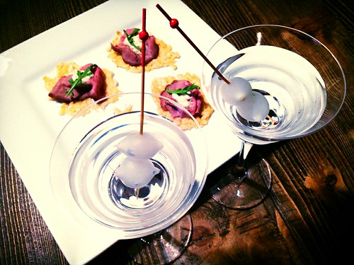 Gibson & Canapé, Make Mine A Martini