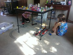 The Lego train is rediscovered
