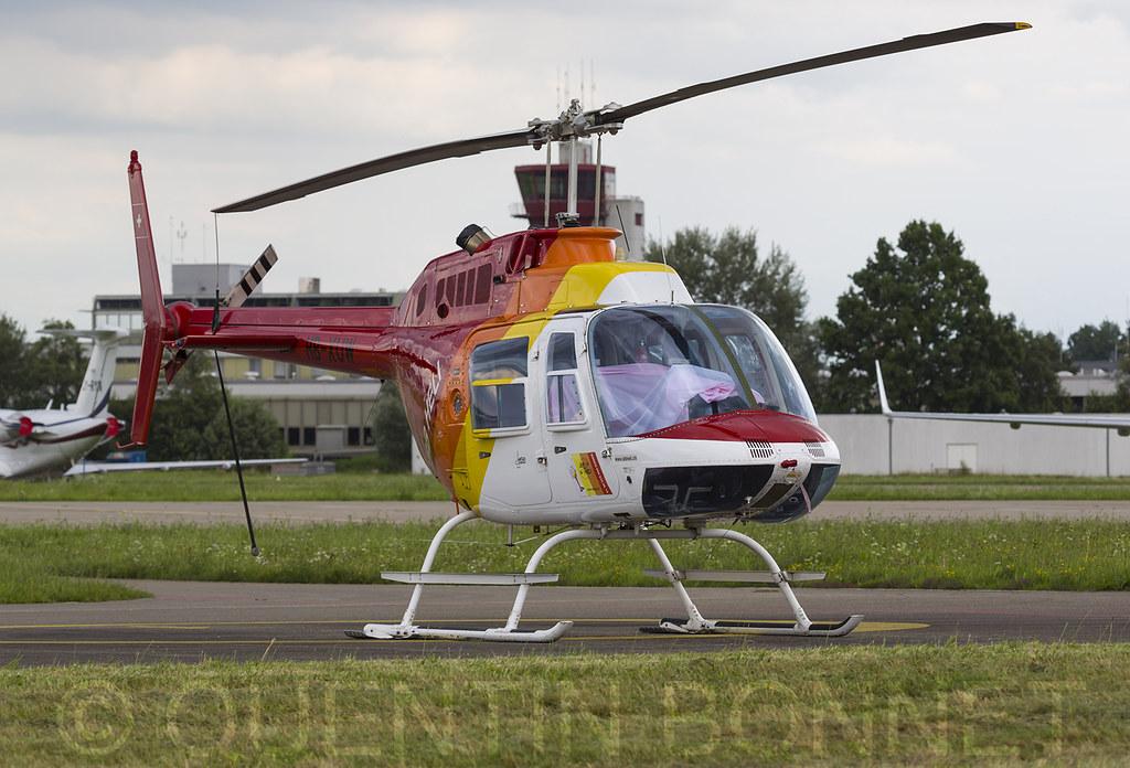 BB Heli Bell 206B-3 JetRanger III HB-XUW