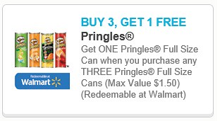 photograph about Pringles Printable Coupons referred to as B3Transfer No cost Pringles and $1/1 Resers Aspect Printable Coupon codes