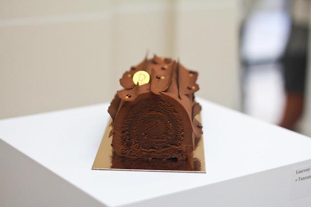 Relais Desserts 2014 - Chocolate Bûche de Noel