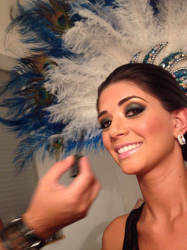 Anabel Angus, Reina del Carnaval Cruceño 2015