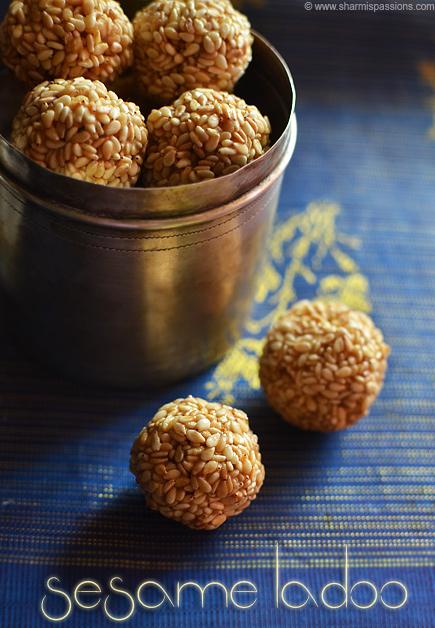 Sesame Ladoo Recipe