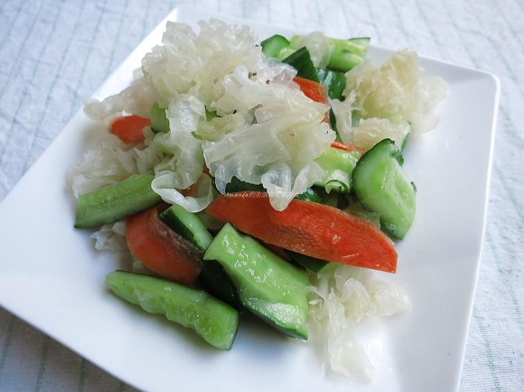 雪耳拌脆黃瓜 (1)