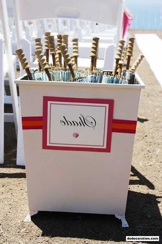 DIY Wedding Décor With Buckets