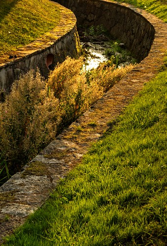 sunset luz río atardecer canal asturias