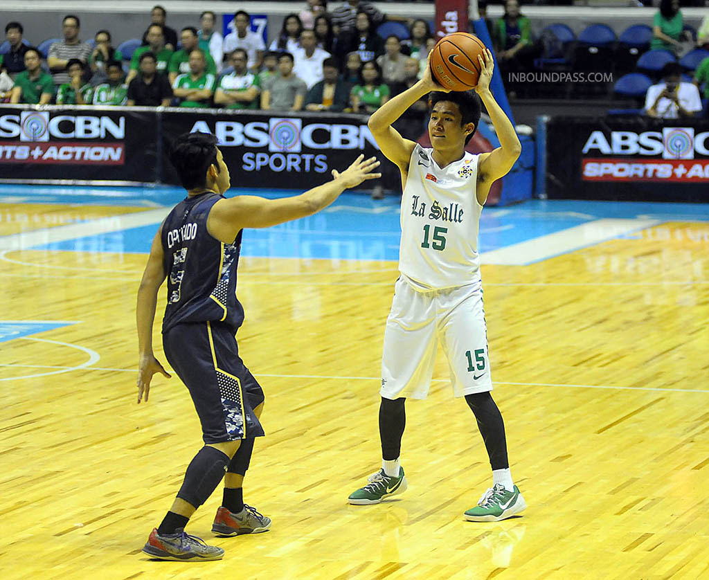 UAAP Season 77: DLSU Green Archers vs. NU Bulldogs, Aug. 13
