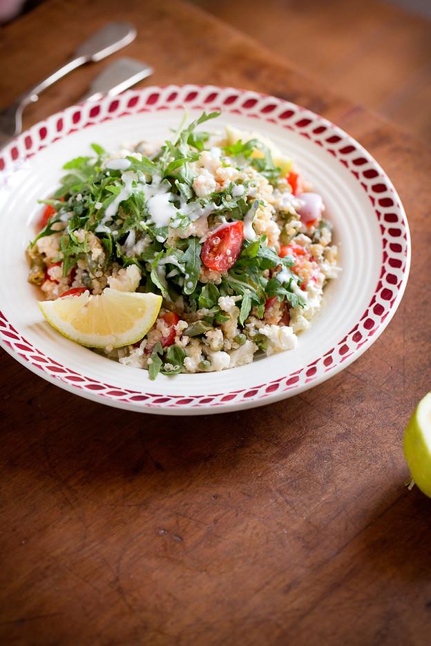 Insalata di quinoa e feta