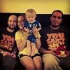 Evan loves his family
