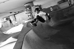 Marginal Way Skate Park on August 24th 2014