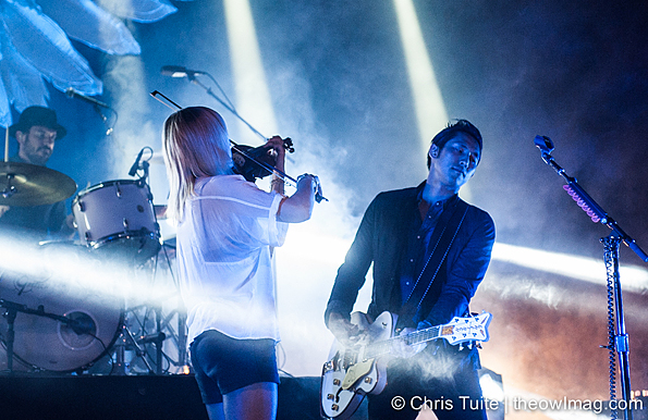 The Airborne Toxic Event @ The Fillmore, SF 9/18/14