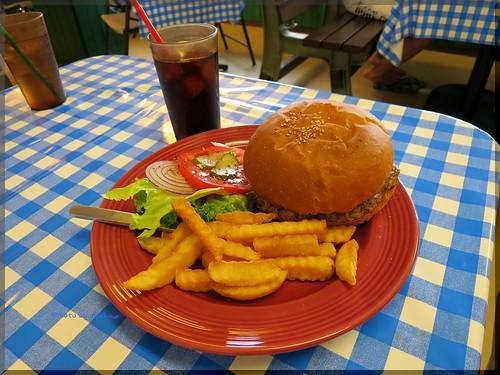 Photo:2014-06-22_ハンバーガーログブック_【宮崎】【都筑】K&E DINER(K&Dダイナー)Mike Burgerとは?ベーコン、チーズ、エッグがなんと!_03 By:logtaka