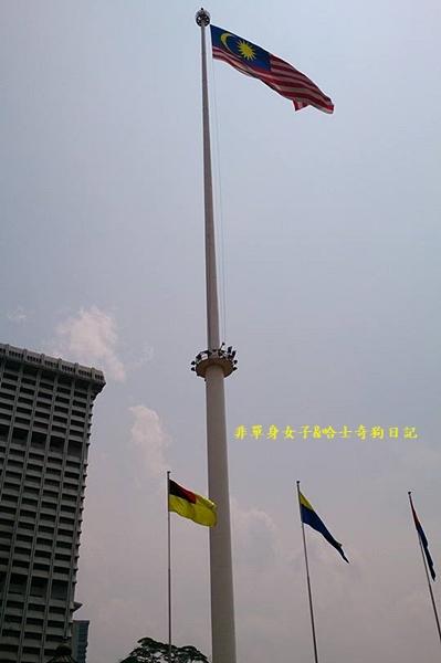 吉隆坡54大旗桿