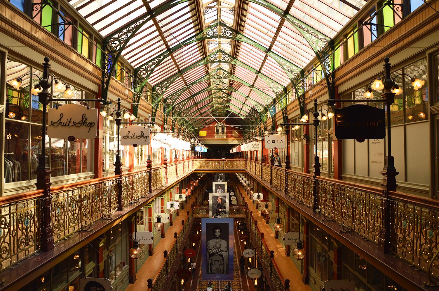 The Strand, Sydney, Australia. Vintage interior