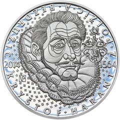 Czech Krystof Harant coin reverse