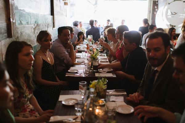 Celine Kim Photography intimate High Park Parkdale restaurant wedding Toronto wedding EM-46