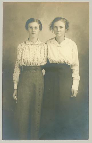 RPPC Two Women
