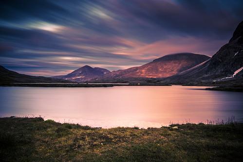 landscape wideanglefilter landscapesbeautifulnorwaylongexposure mountainmountainwaterlakelight