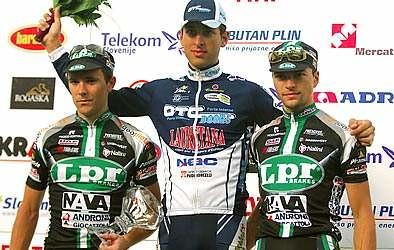 Enrico Rossi vincitore 5a tappa Giro di Slovenia 2007