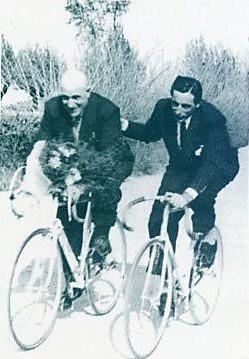 Giovanni Cuniolo e Fausto Coppi (1951)
