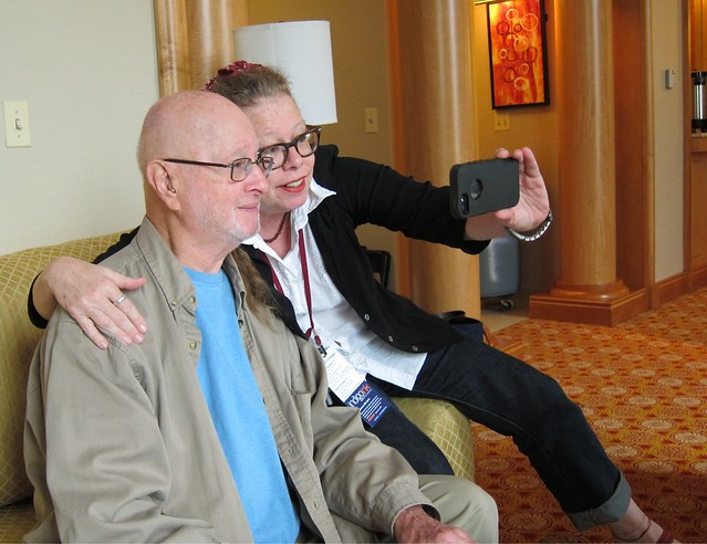 Jules & Lynda's selfie