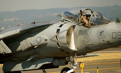 aviation, airplane, vehicle, fighter aircraft, ground attack aircraft, jet aircraft, aircraft engine, mcdonnell douglas av-8b harrier ii, air force,