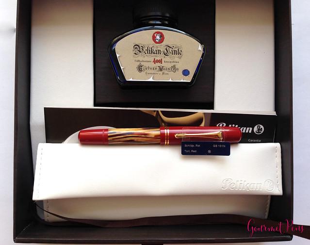Review: Pelikan Souverän M101N Red Tortoiseshell SE Fountain Pen - Medium @AppelboomLaren @Pelikan_Company