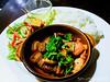 焦糖鮭魚燉五花肉
