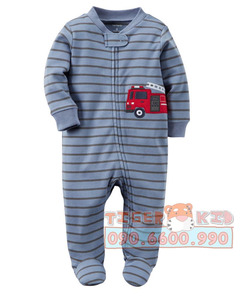 22754607438 52bb1d6f9a o Sleepsuit nhập Mỹ size 6M;9M