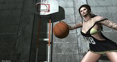 As a basketball star