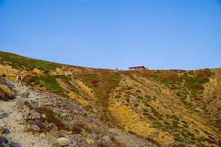 峰の茶屋跡へ