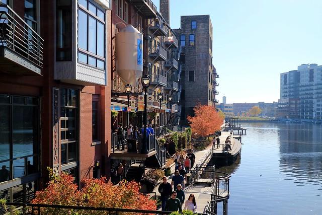 Autumn along Milwaukee's Riverwalk