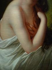 VIG�E-LE BRUN Elisabeth,1792 - Julie Le Brun, en Baigneuse - Detail -d