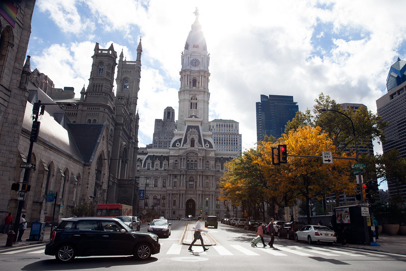 Philadelphia in the Fall