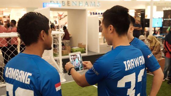 ASTARK, Aplikasi Game Sepak Bola Berkonsep AR - teknologi