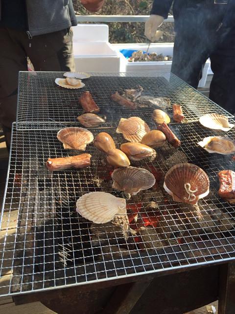 양평 패러글라이딩 비행 후 맛있는 조개구이와 양꼬치 점심