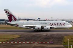 Qatar Airways | Airbus A380-800 | A7-APF | London Heathrow