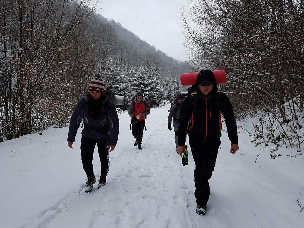 Decembrie în Munții Ţibleş