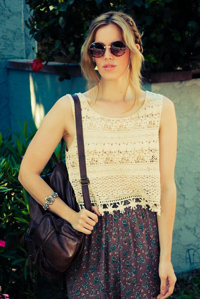 jennifer beile sacramento los angeles summer style boho style heidi braids long hair summer style backstreet boys free people urban outfitters crossroads trading company claire's modcloth palazzo pants how to style printed pants seeking style ootd style blog daily outfit photos