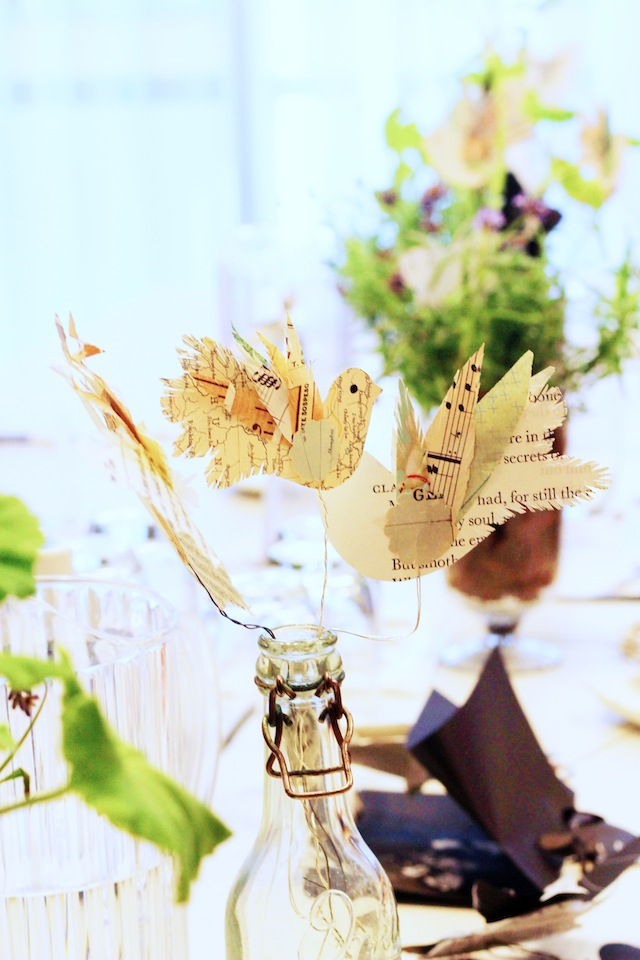 Betty Soldi calligraphy workshop decor at The Hive 2014