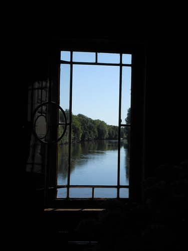 View from Catherine de Medici's study