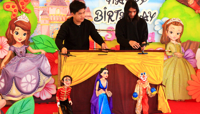 Marionette Show in Manila Parties