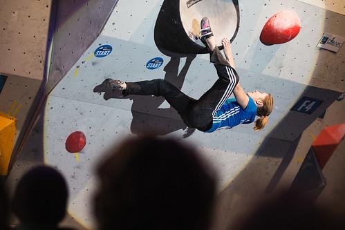 IFSC Climbing/ Boulder Worldcup Innsbruck 2014