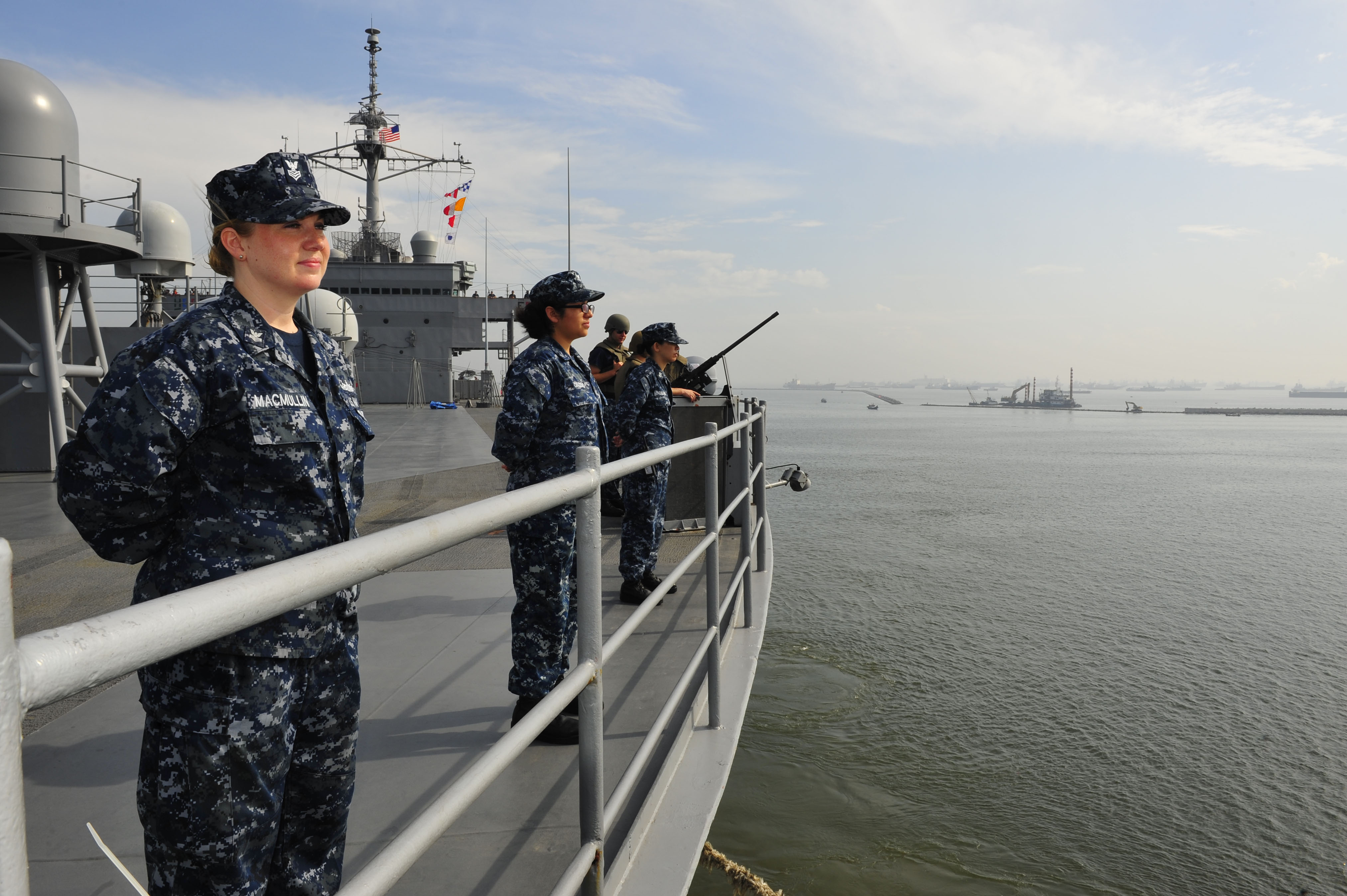 USS Blue Ridge to Strengthen Ties During Indonesia Visit