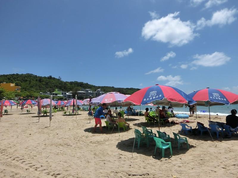 台灣。墾丁。沙灘。祕境