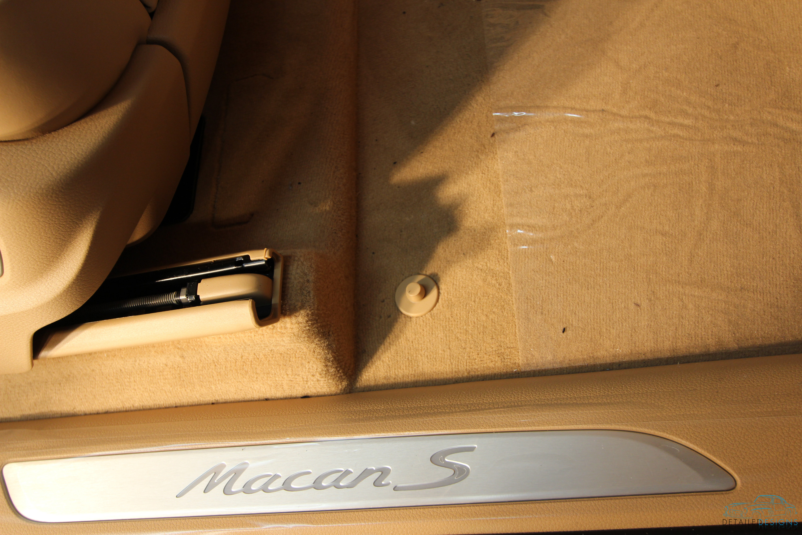 Atlanta Porsche Detailing And Opti Coat Pro Installation On New Macan S Detailed Designs Auto Spa