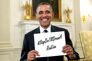 Obama Hashtag