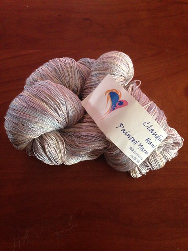 Claudia Hand Paints Silk Lace
