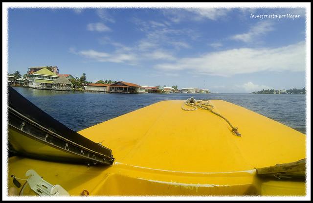 Llegada a Bocas del Toro