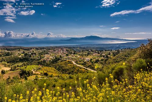 nikon hill corinth hellas sigma sunny panoramic greece 1835 peloponnese kiato d7100 souli nikonflickraward nikond7100 sigma1835f18dcart